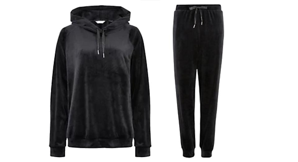 Fleece Lounge Hoodie Set