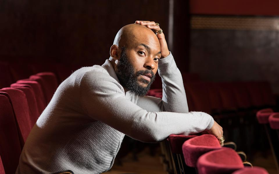 Arinze Kene plays the lead role in Get Up Stand Up! The Bob Marley Musical (Daniel Hambury/Stella Pictures Ltd)