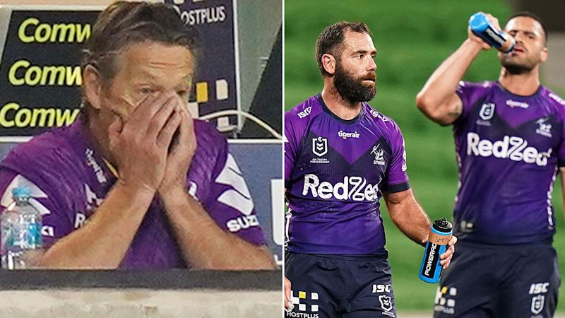 Pictured here, Melbourne Storm coach Craig Bellamy and captain Cameron Smith.