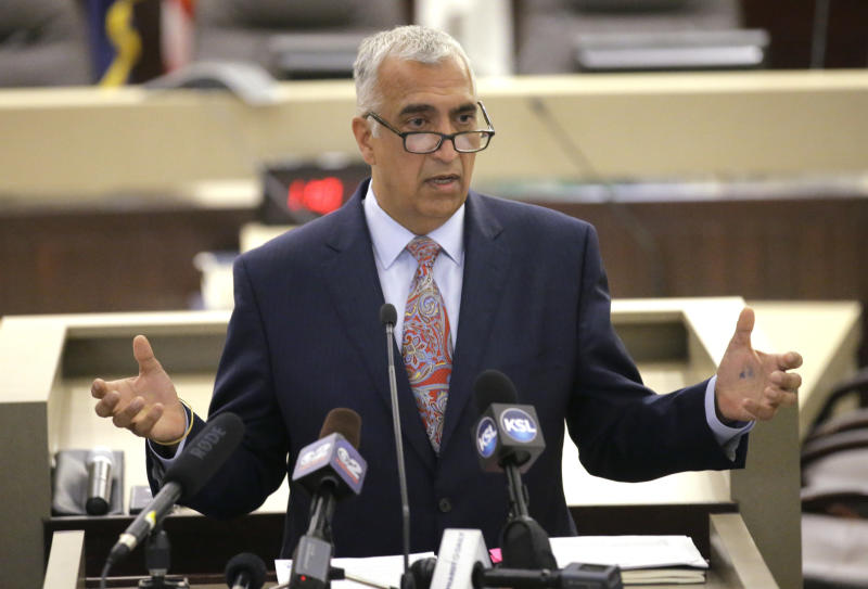 Salt Lake County District Attorney Sim Gill has been calling on the Utah State Legislature to pass stricter hate crime legislation for nearly two decades. (THE ASSOCIATED PRESS)