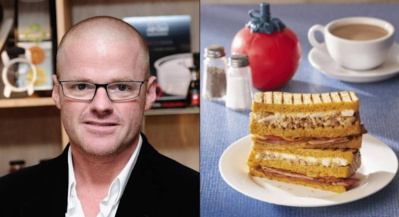 Heston Blumenthal has created a Full English breakfast sandwich for Waitrose. (Getty Images / Waitrose)