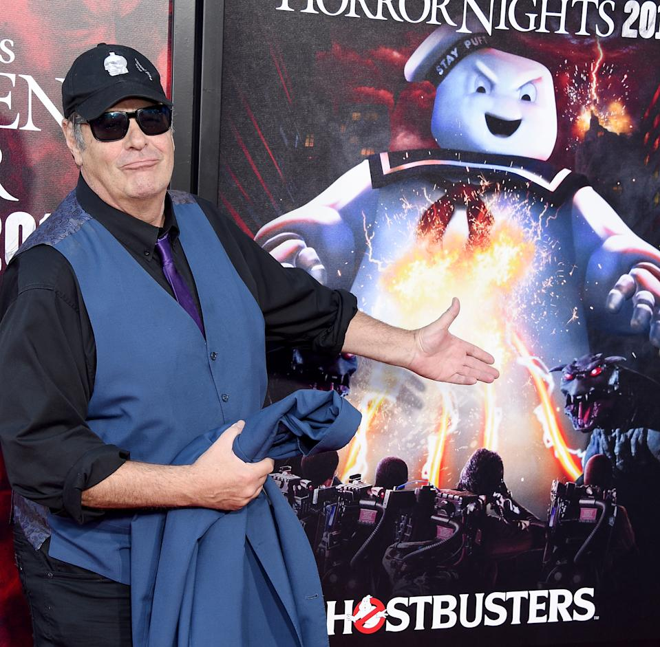 UNIVERSAL CITY, CA - SEPTEMBER 12:  Dan Aykroyd arrives at the Opening Night Of Universal Studios' Halloween Horror Nights at Universal Studios Hollywood on September 12, 2019 in Universal City, California.  (Photo by Gregg DeGuire/FilmMagic)