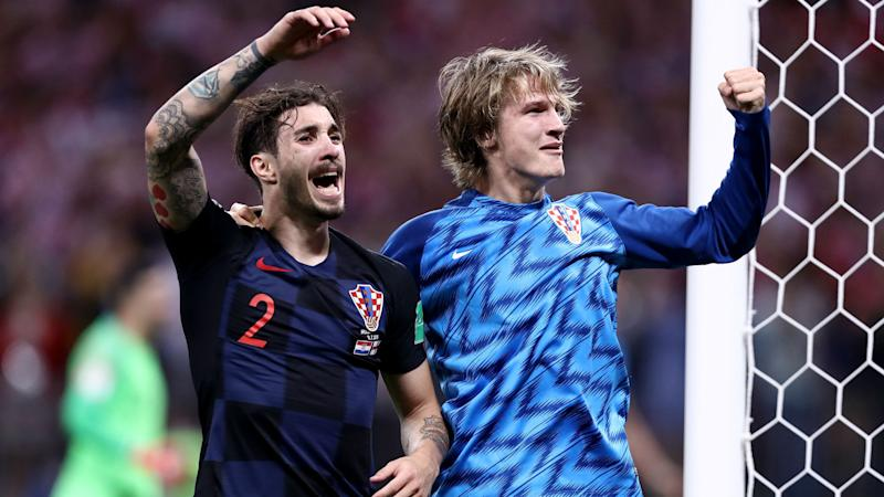 Croatia 3 Spain 2: Jedvaj keeps World Cup finalists in contention