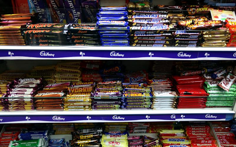 Confectionery companies were told they could shrink bars to avoid cutting sugar  - Chris Ratcliffe/Bloomberg