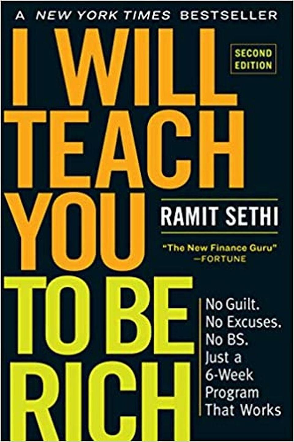 <p>Remember when every finance publication stated that milennials are not as well off because we spend too much on avocado toast and Starbucks? Well, Ramit Sethi says that's bullsh*t. We can have our cake and eat it too but with certain strategies in place. <span><b>I Will Teach You to Be Rich</b></span> ($9) is literally that. It even has word-for-word scripts on how to talk your way out of late fees.</p>
