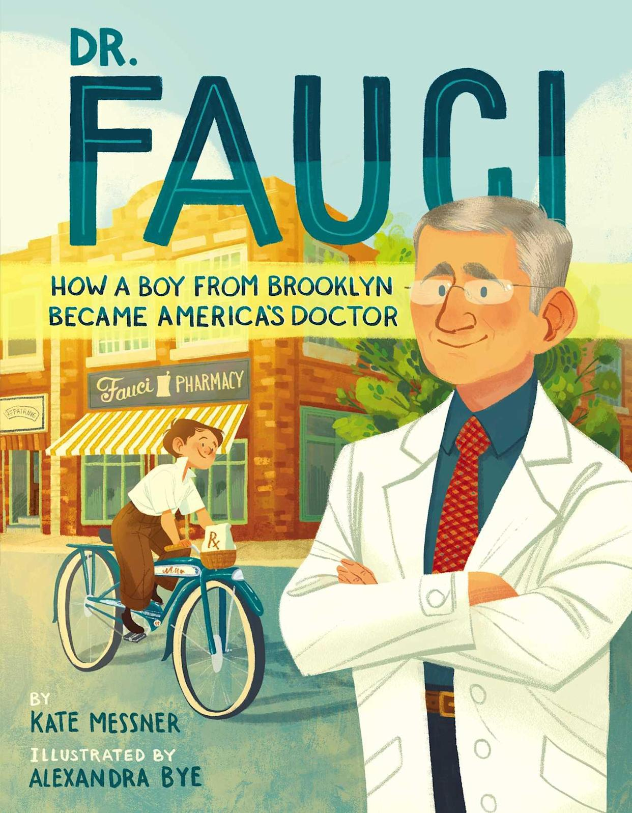 'Dr. Fauci: How a Boy from Brooklyn Became America's Doctor' (Photo: Simon and Schuster)