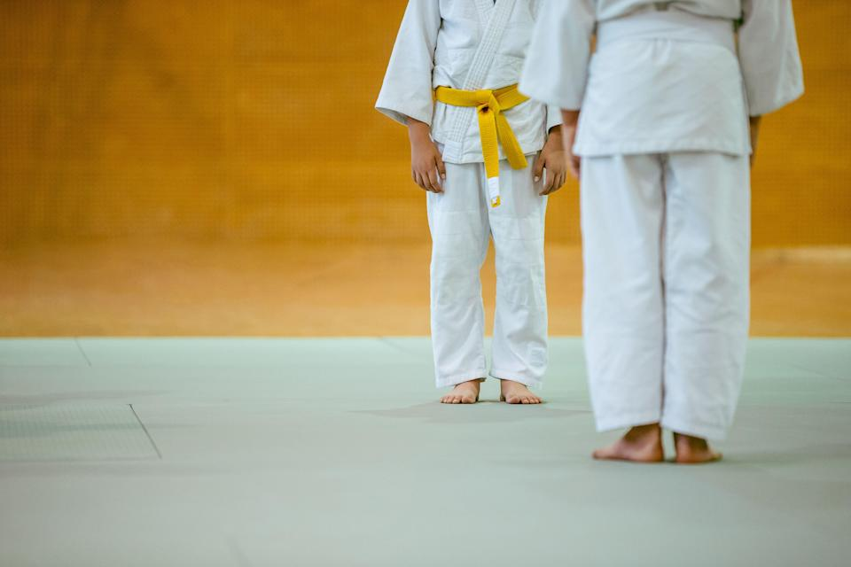 Two Boys During Judo Practicing (Photo: CasarsaGuru via Getty Images)