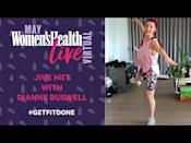 "<p>Get sweaty and have a laugh in this tough dance-style HIIT workout with Strictly star Dianne Buswell. Don't worry about getting every step right – it's about giving it your best shot. </p><p><strong>RELATED: </strong><a href=""https://www.womenshealthmag.com/uk/fitness/a32726641/dianne-buswell-fasted-workouts/"" rel=""nofollow noopener"" target=""_blank"" data-ylk=""slk:Diane Buswell does fasted cardio"" class=""link rapid-noclick-resp"">Diane Buswell does fasted cardio</a> every morning – here's why</p><p><a href=""https://www.youtube.com/watch?v=3IcBW3IgpeM&ab_channel=Women%27sHealthUK"" rel=""nofollow noopener"" target=""_blank"" data-ylk=""slk:See the original post on Youtube"" class=""link rapid-noclick-resp"">See the original post on Youtube</a></p>"