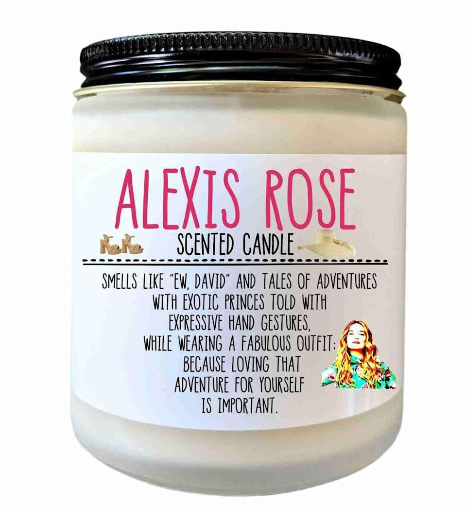 <p><span>Alexis Rose Schitt's Creek Scented Candle</span> ($20)</p>