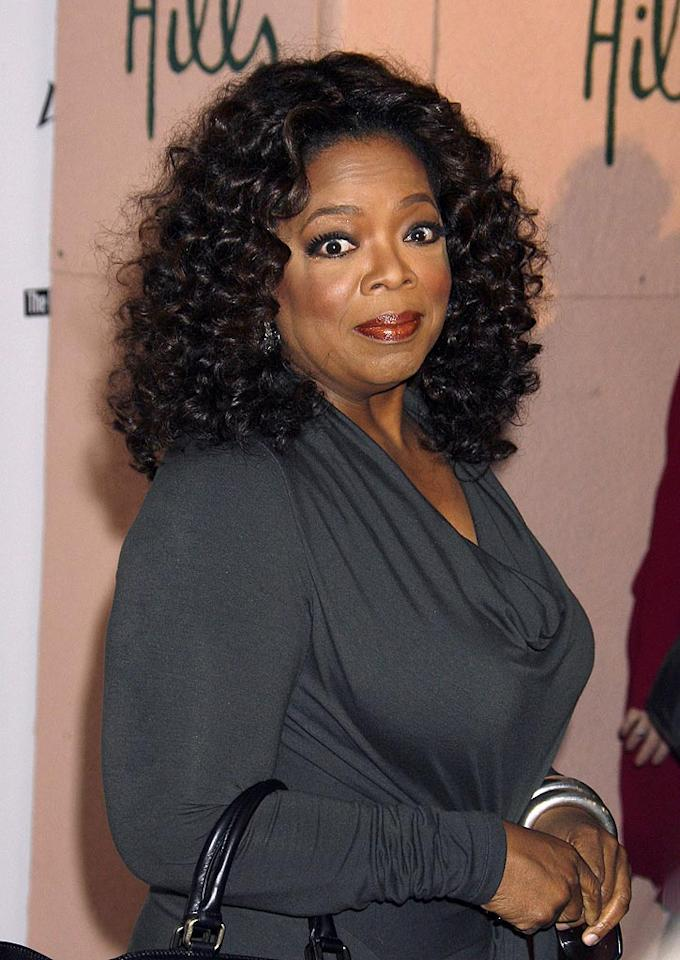 """According to the <i>National Enquirer</i>, Oprah Winfrey has """"vowed to bury"""" her TV rival """"Judge Judy."""" The magazine explains, """"Oprah is furious"""" that Judge Judy has tied or beaten her a few times in the ratings war. Check out <a href=""""http://www.gossipcop.com/oprah-winfrey-show-judge-judy-ratings-war/"""" target=""""new"""">Gossip Cop</a> for the truth, the whole truth, and nothing but the truth about how Oprah plans to dismiss the judge. Jeffrey Mayer/<a href=""""http://www.wireimage.com"""" target=""""new"""">WireImage.com</a> - December 5, 2008"""