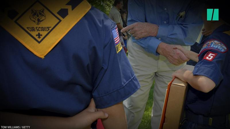 Cub Scout Stands Up To Lawmaker Cub Scout Stands Up To Lawmaker