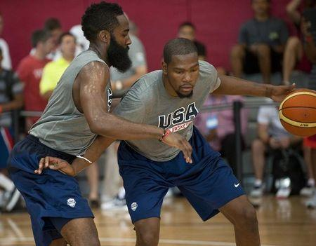 Basketball: USA National Team-Training