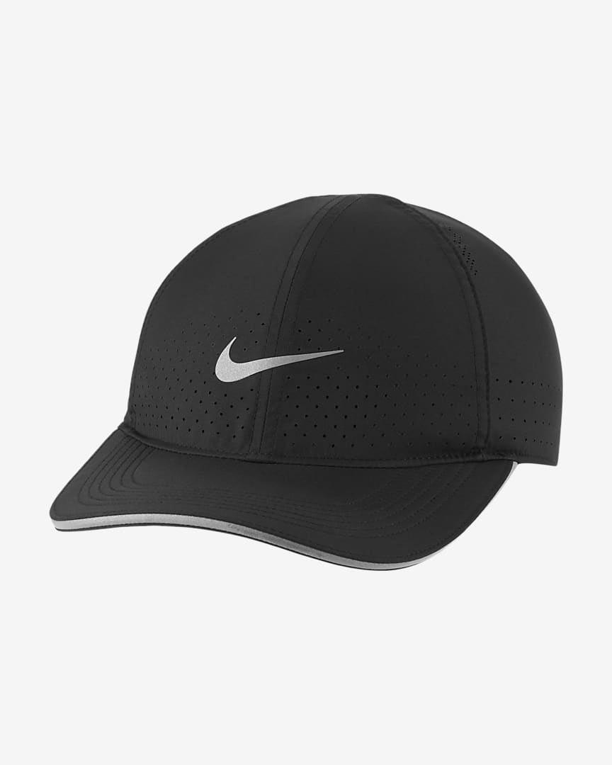 """<p>""""When I don't want to do my hair before going on a run or it's extremely sunny and hot outside, the <span>Nike Dri-FIT Aerobill Featherlight Perforated Running Cap</span> ($28) is always a clutch option to have on hand. It's extremely lightweight and absorbs sweat well and keeps the sun out of my eyes."""" - TP</p>"""