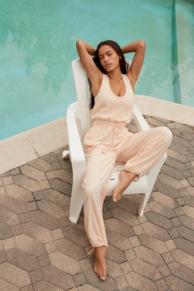 """<p>I love this <a href=""""https://www.popsugar.com/buy/Esperanza-Jumpsuit-579192?p_name=Esperanza%20Jumpsuit&retailer=freepeople.com&pid=579192&price=88&evar1=fab%3Aus&evar9=47524904&evar98=https%3A%2F%2Fwww.popsugar.com%2Ffashion%2Fphoto-gallery%2F47524904%2Fimage%2F47525077%2FEsperanza-Jumpsuit&list1=shopping%2Cjumpsuits%2Cfashion%20shopping%2Crompers%2Ccomfortable%20clothes&prop13=mobile&pdata=1"""" rel=""""nofollow"""" data-shoppable-link=""""1"""" target=""""_blank"""" class=""""ga-track"""" data-ga-category=""""Related"""" data-ga-label=""""https://www.freepeople.com/shop/esperanza-jumpsuit/?category=jumpsuits-rompers&amp;color=067&amp;type=REGULAR&amp;quantity=1"""" data-ga-action=""""In-Line Links"""">Esperanza Jumpsuit</a> ($88), because it has fun and handy cargo pockets.</p>"""