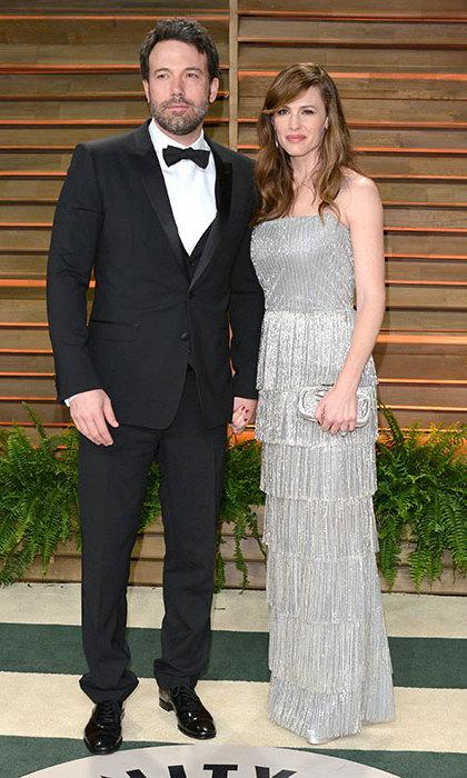 Ben Affleck and Jennifer Garner at 2014 Vanity Affair Oscar Party