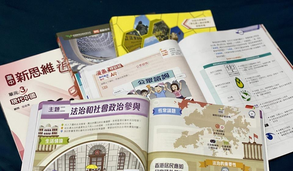 Liberal studies textbooks from six publishers underwent voluntary vetting by the Education Bureau this year. Photo: Chan Ho-him