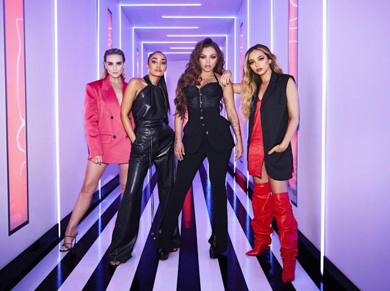Little Mix are looking for the next big group (BBC)