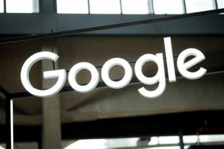 FILE PHOTO - The Google logo is seen at the