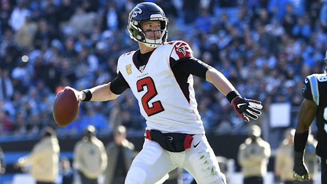 Matt Ryan, 34, surpassed Warren Moon for a place in the top 10 following Sunday's 29-3 win against the Carolina Panthers.