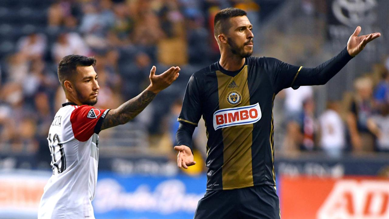 D.C. United's Luciano Acosta was sent off in the match against the Philadelphia Union, until his opponent did something unbelievably sporting