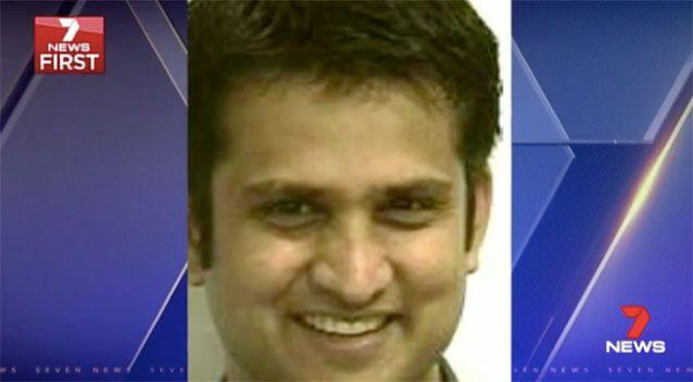 Shyam Acharya allegedly posed as Dr Sarang Chitale. Picture: 7 News