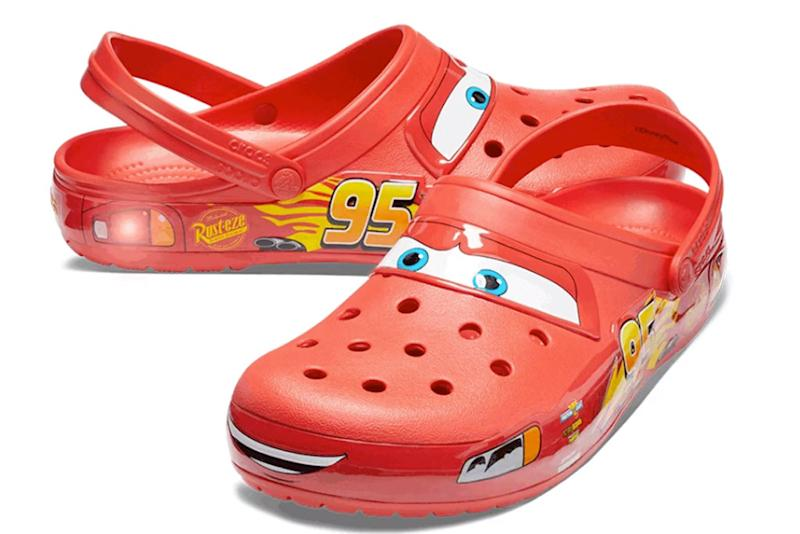 c1b1c75d827 Crocs Made Lightning McQueen Clogs From 'Cars' in Adult Sizes — and They're  Already Sold Out