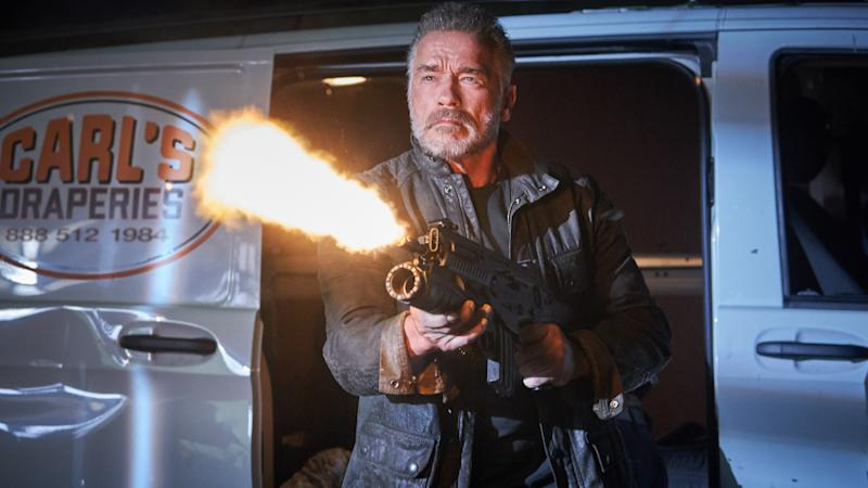 Arnold Schwarzenegger will play the T-800 again in Tim Miller's 'Terminator: Dark Fate'. (Credit: 20th Century Fox)