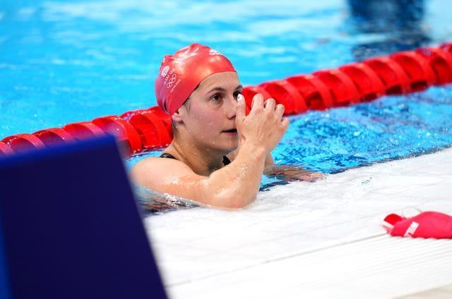 Aimee Willmott finished seventh in the women's 400m individual medley final (Joe Giddens/PA)