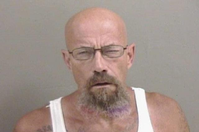 Walter White lookalike sought by US police as mugshot goes viral