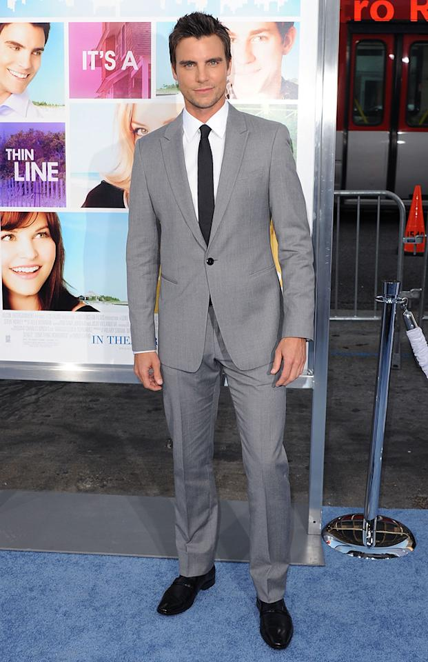 "<a href=""http://movies.yahoo.com/movie/contributor/1809139108"">Colin Egglesfield</a> attends the Los Angeles premiere of <a href=""http://movies.yahoo.com/movie/1810158033/info"">Something Borrowed</a> on May 3, 2011."