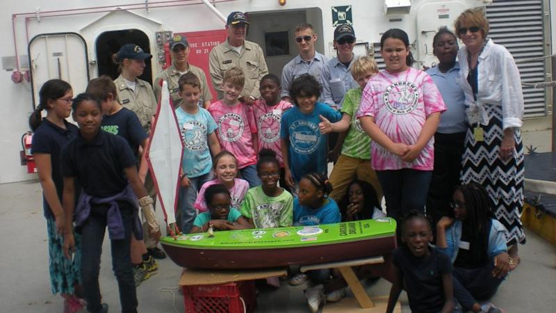 Toy Boat Set Sail by South Carolina School Kids Found in Wales 4,800 Miles Away