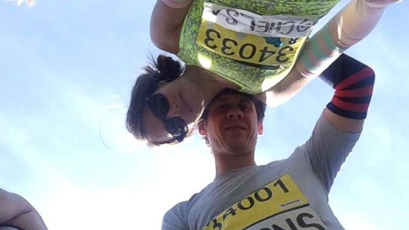 Foursquare Founder Sorry for Wife Stealing Boston Marathon Bib Number