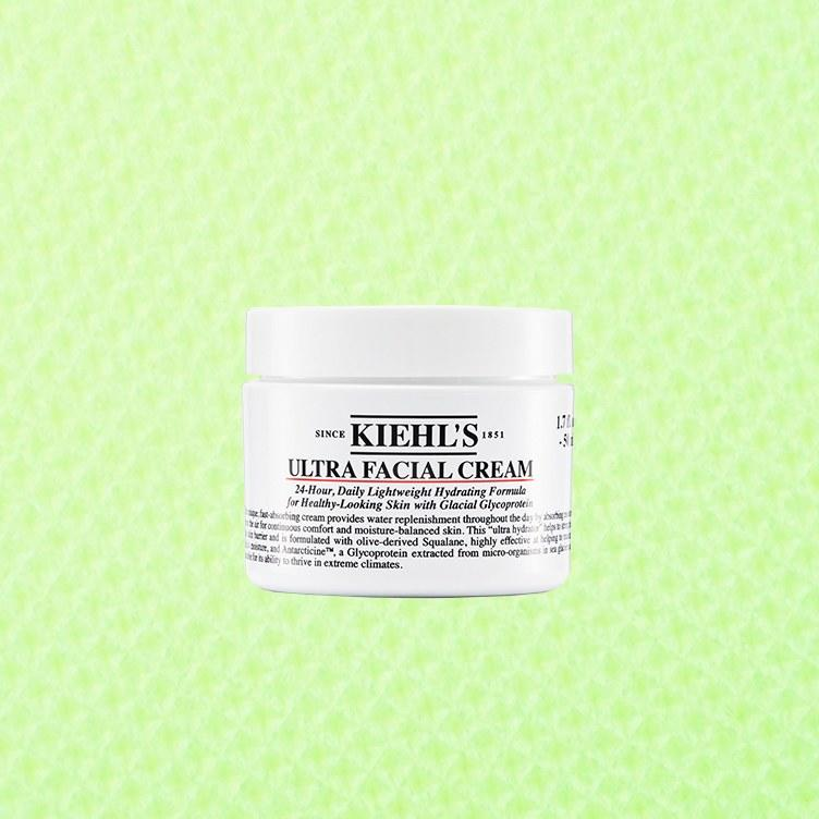 """<p>Our testers were very charmed by the thick, whipped texture of the relaunched Ultra Facial Cream from Kiehl's. The new formula nixes the parabens, but keeps a skin-friendly blend of superstar oils like squalane oil and hydrators like glycerin. A key factor for people with combination skin: It's lightweight and never greasy, which testers reported (see below). See the full ingredient list <a href=""""https://www.kiehls.com/skincare/moisturizers/ultra-facial-cream/622.html#"""">here</a>. (And if you're curious about parabens, including whether you actually need to be freaked out by them, you should <a href=""""https://www.self.com/story/controversial-cosmetics-ingredients-research?mbid=synd_yahoo_rss"""">read more about what the science says here</a>—it's fairly nuanced, and the long story short is that you shouldn't really worry. But if you <em>do</em> worry...again, this product doesn't have them, anyway.)</p> <p><strong>Bonus Points, Per the Experts:</strong> This product comes with the acne-fighting salicylic acid, which dermatologists noted could be helpful for combination skin.</p> <p><strong>One Tester Said:</strong>  """"As someone with combination skin, I loved this moisturizer. It was thick and rich, but didn't feel heavy or sticky on my face. It smelled nice (actually barely smelled at all, which I prefer) and left my skin feeling very soft after just one use.""""</p> <p><strong>Buy It:</strong> $18, <a href=""""https://www.ulta.com/ultra-facial-cream?productId=pimprod2002804"""" rel=""""nofollow"""">ulta.com</a></p>"""