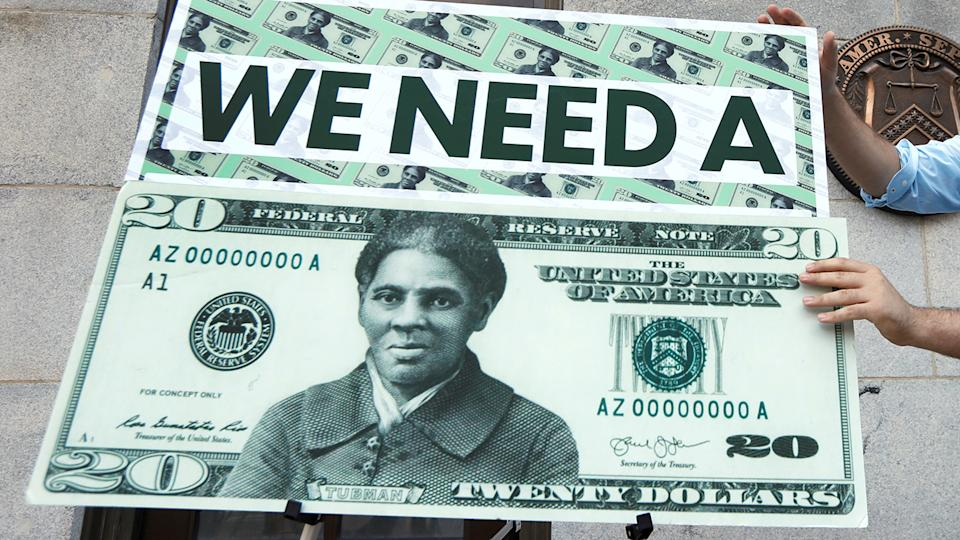 Harriet Tubman $20 bill design