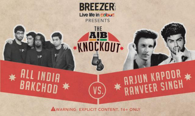 One of the initial posters of AIB Knockout