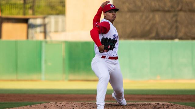 A's pitching prospect Jesus Luzardo opens up about recent lat strain