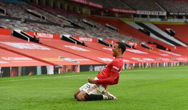 Mason Greenwood has been in fine form for Manchester United