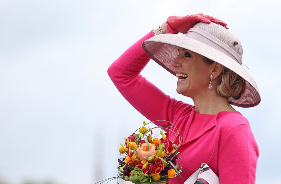 Queen Maxima of the Netherlands takes part in King's Day in Zwolle, the Netherlands April 27, 2016. REUTERS/Andreas Rentz/Pool
