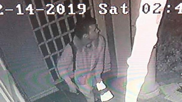 PHOTO: In this photo taken from surveillance video and provided by the Beverly Hills Police Department is a suspect in the vandalism of the Nessah Synagogue Dec. 14, 2019, in Beverly Hills, Calif. ((Beverly Hills Police Dept. via AP)