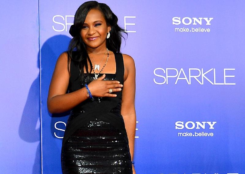 Bobbi Kristina Brown, the only daughter of pop legend Whitney Houston and singer Bobby Brown, has died at age 22, her family has said (AFP Photo/Frazer Harrison / STF)