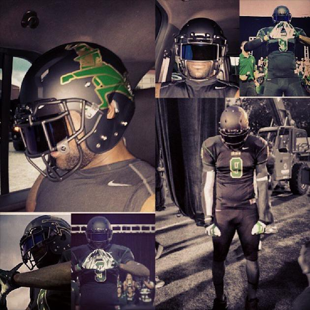 new concept c22ae b7ff3 LeBron James lands sweet new uniforms for his alma mater's ...