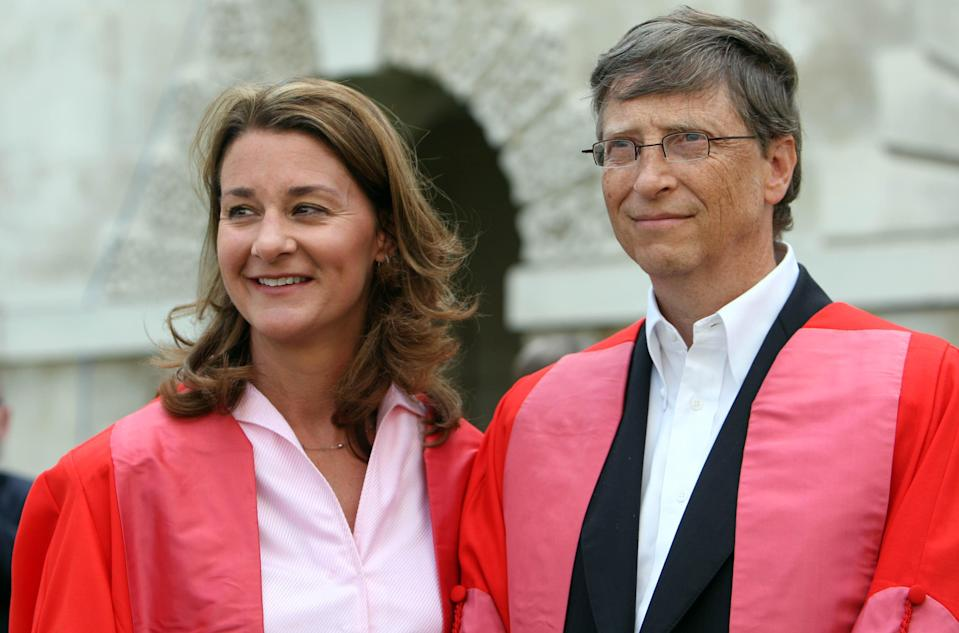 Bill and Melinda Gates (PA Wire)