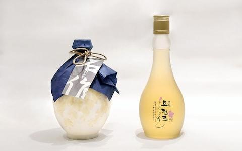 Munbaeju, traditional Korean liquor made from millet and broom-com - Credit: AFP/AFP
