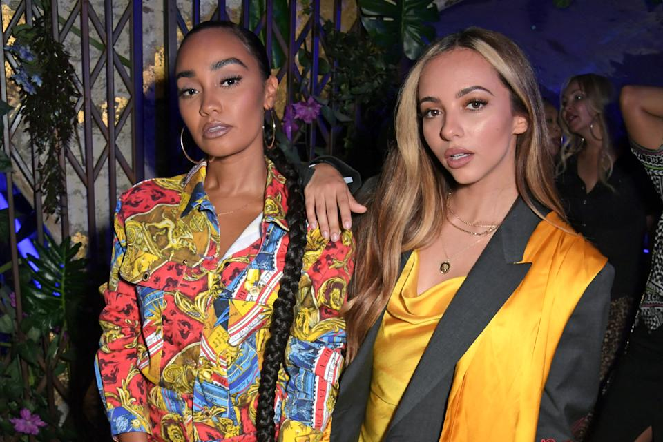 LONDON, ENGLAND -  JULY 04:   Leigh-Anne Pinnock and Jade Thirlwall attend as CIROC x Moschino celebrate Pride In London with the hottest party of the summer hosted by Jeremy Scott at MNKY HSE on July 4, 2019 in London, England. (Photo by David M. Benett/Dave Benett/Getty Images for CIROC Vodka)
