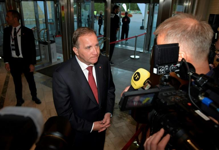 Prime Minister Stefan Lofven says the legislative elections are a 'referendum on the future of the welfare state'