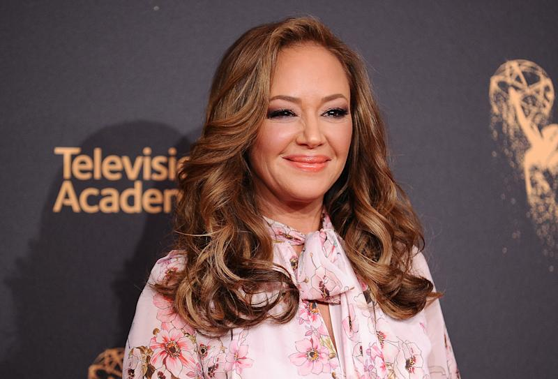 Leah Remini attends the 2017 Creative Arts Emmy Awards at Microsoft Theater on Sept. 9, 2017, in Los Angeles. (Jason LaVeris/FilmMagic via Getty Images)