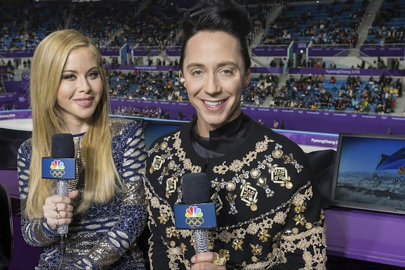 Tara Lipinski Says This Is the Best Thing About Working the Olympics With Johnny Weir