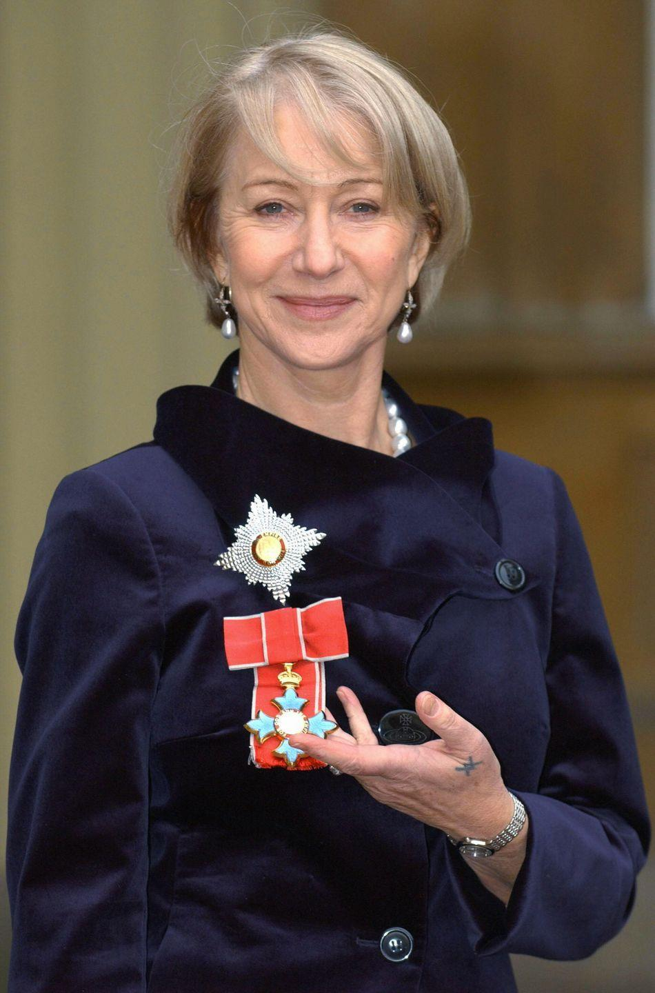 <p>Prince Charles appointed Mirren an honorary dame in 2003.</p>