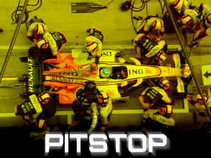 "Pitstop offers a ""pit stop"" compilation of high-octane racing profiles of the fantastic cars and the courageous drivers from all times"