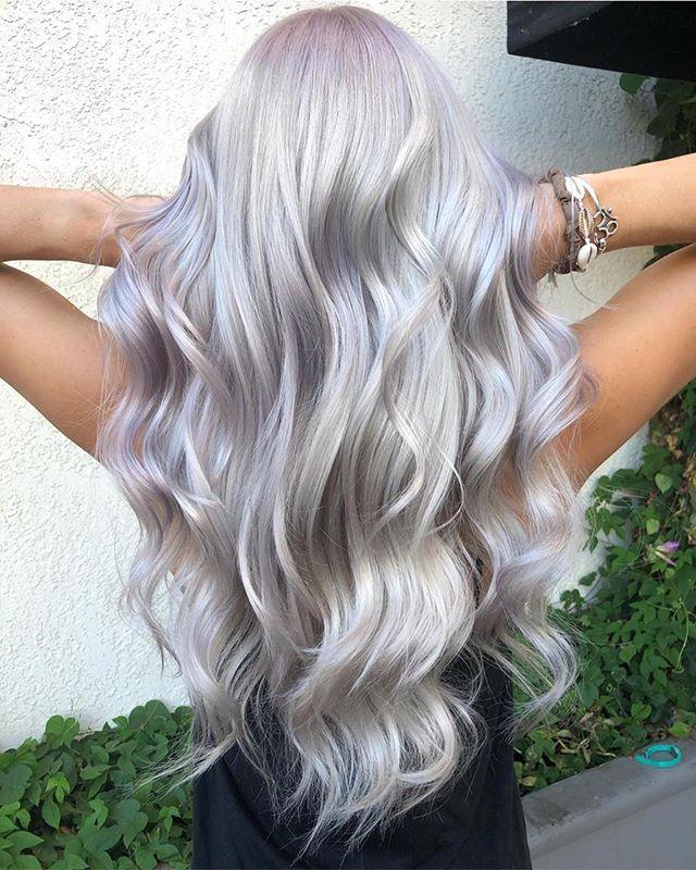 """<p>This purple-hued hair might take time — this look took six hours to achieve — but the end result is so worth it. </p><p><a href=""""https://www.instagram.com/p/B06R0m2AM9C/"""">See the original post on Instagram</a></p>"""